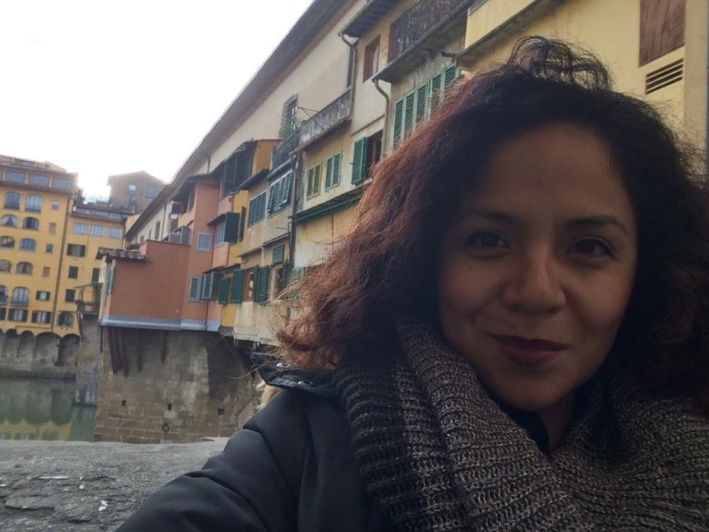 Alex in Florence